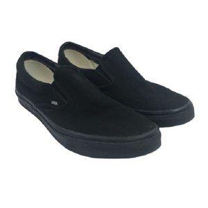 Vans 721565 Black Unisex  Classic Canvas Sneakers